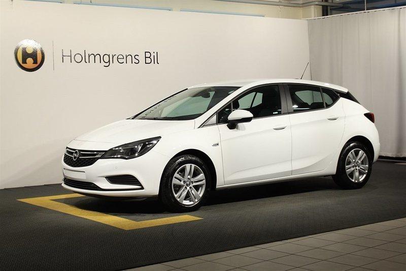"gebraucht Opel Astra Enjoy 5d 1.0T/105 hk Pluspaket OnStar 16"" Alu"
