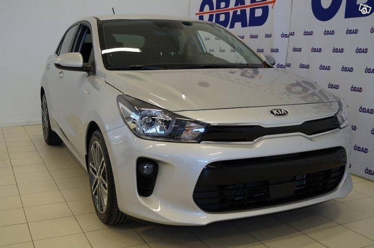 s ld kia rio 1 25 launch edition 2 begagnad 2017 1 mil. Black Bedroom Furniture Sets. Home Design Ideas