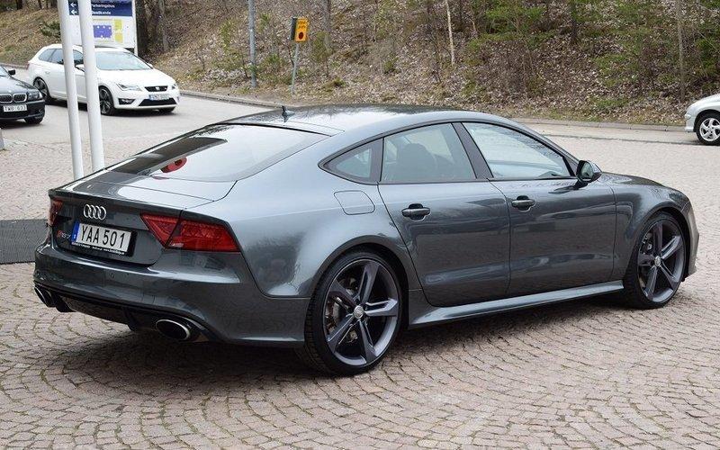 S 229 Ld Audi Rs7 4 0tfsi Black Optik Begagnad 2014 9 000 Mil I Norsborg