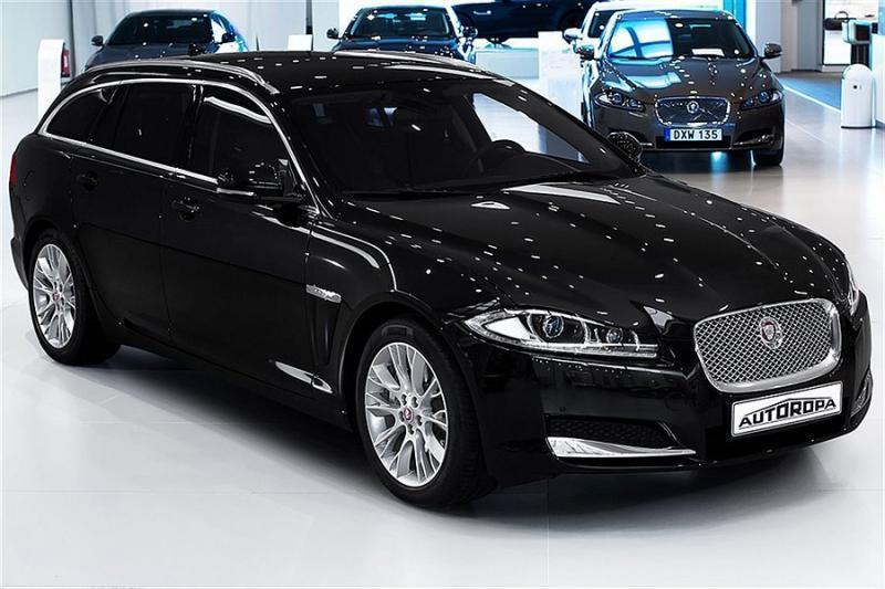 s ld jaguar xf sportbreak kombi 20 begagnad 2015 1 mil. Black Bedroom Furniture Sets. Home Design Ideas