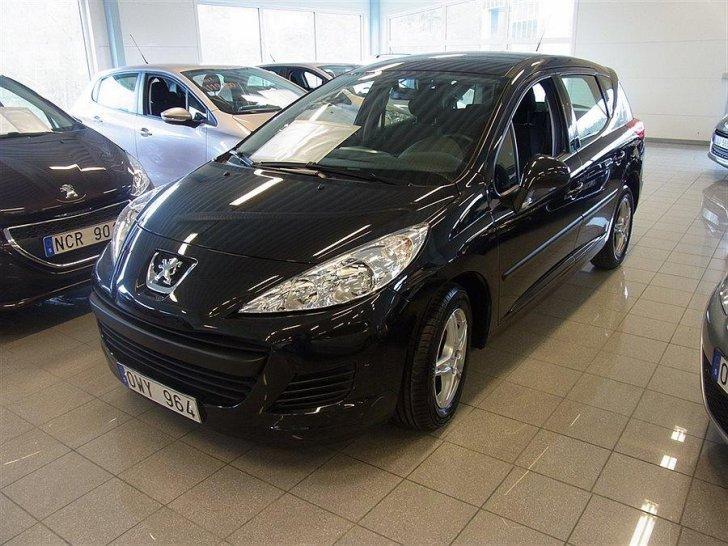 Sald Peugeot 207 Sw 1 6 Hdi Kombi Begagnad 2010 3 600 Mil I Nacka