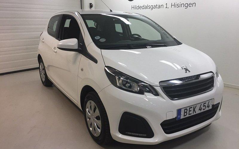 begagnad Peugeot 108 5D ACTIVE 1,0 VTI (68hk)