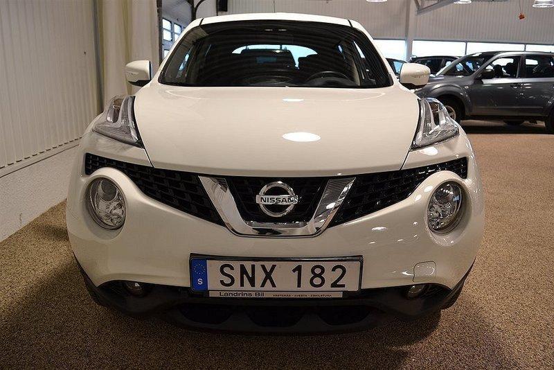 S ld nissan juke 1 2 dig t acenta begagnad 2014 for Nissan juke lila
