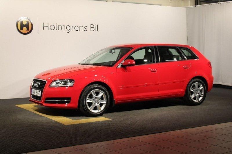 begagnad Audi A3 Sportback 1.6 TDI (105hk)
