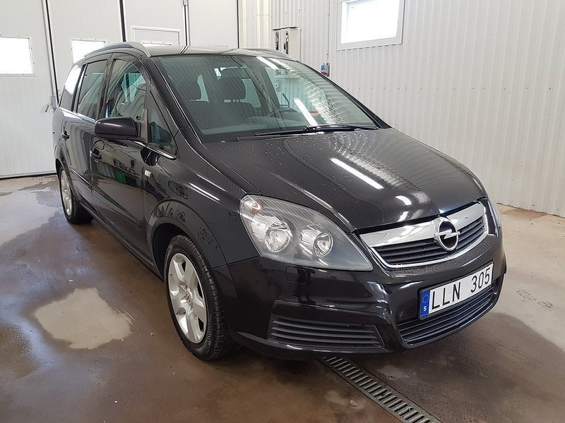 Sld Opel Zafira 16 Cng Gas 7 Sit Begagnad 2006 14000 Mil I
