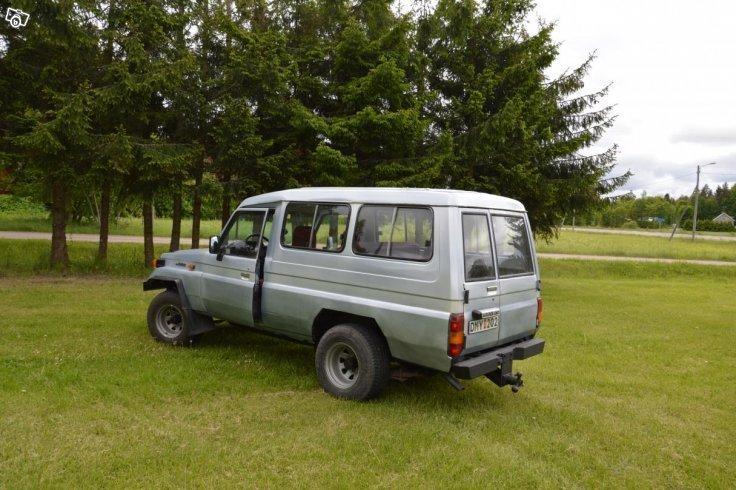 Sld Toyota Land Cruiser BJ75 85 Begagnad 1985 32499