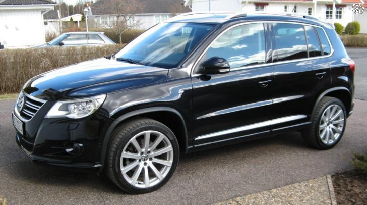 s ld vw tiguan tdi 170 r line 10 begagnad 2009 mil i j nk ping. Black Bedroom Furniture Sets. Home Design Ideas