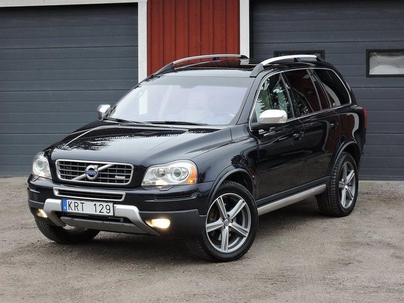 Volvo Xc90 R Design >> Såld Volvo XC90 V8 AWD R-Design 7 ., begagnad 2011, 11.470 ...