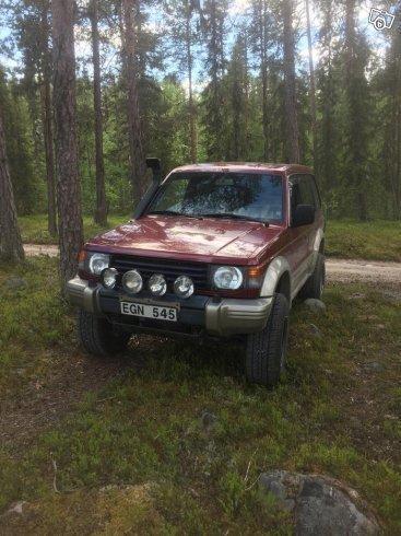 Såld Mitsubishi Pajero -97, begagnad 1997, 20.500 mil i (Jokkmokk)