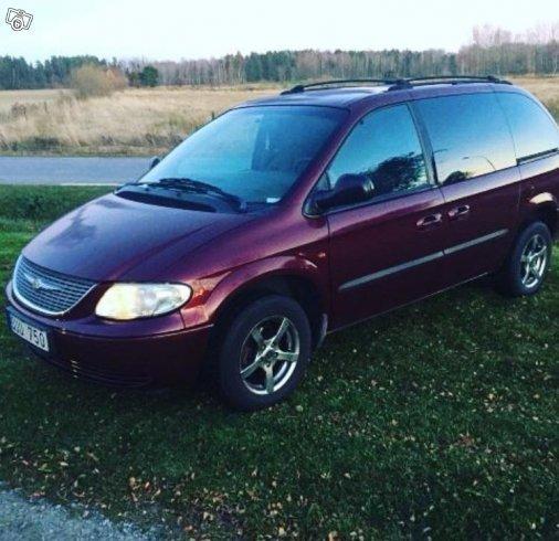 Såld Chrysler Voyager -02, Begagnad 2002, 22 000 Mil I