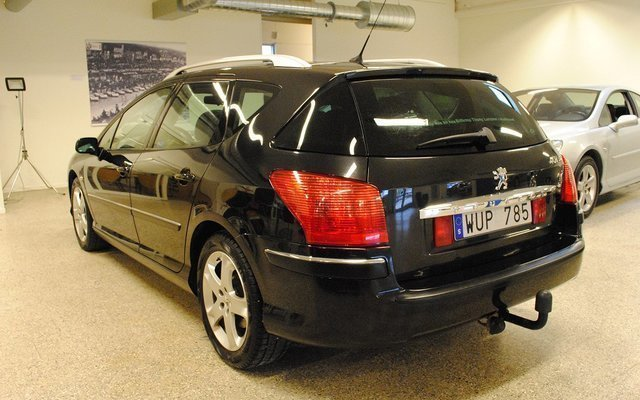 s ld peugeot 407 sw st 2 0 hdi 136 begagnad 2005 mil i hudiksvall. Black Bedroom Furniture Sets. Home Design Ideas