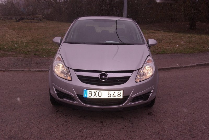 s ld opel corsa 1 3 cdti diesel ko begagnad 2007 mil i v ster s. Black Bedroom Furniture Sets. Home Design Ideas