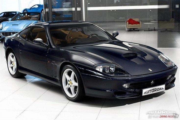 S 229 Ld Ferrari 550 Maranello 02 Begagnad 2002 5 120 Mil I