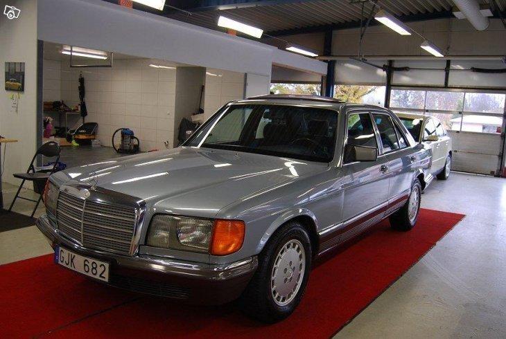 S ld mercedes 280 se automat drag begagnad 1982 for 4 4422 c
