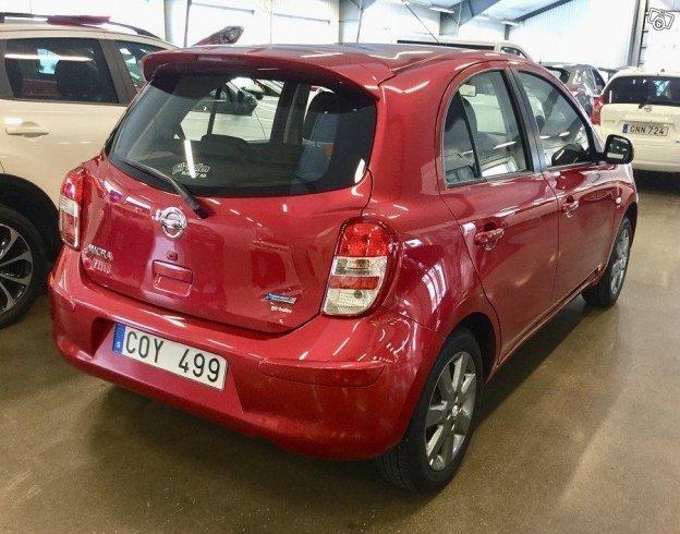 Sld Nissan Micra Elle 80hk Vlutr Begagnad 2012 1789 Mil I