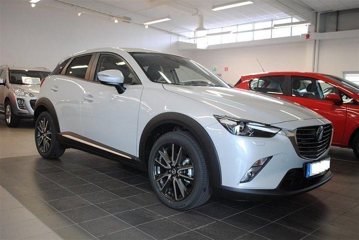 begagnad Mazda CX-3 OPTIMUM 2.0 120 HK 2WD MANUELL