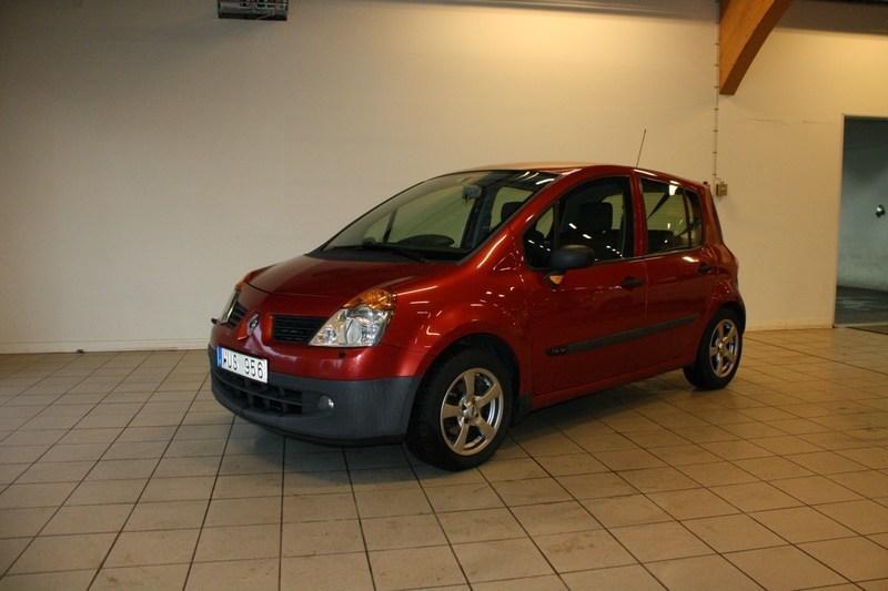 begagnad Renault Modus 1.4 16V (100hk)