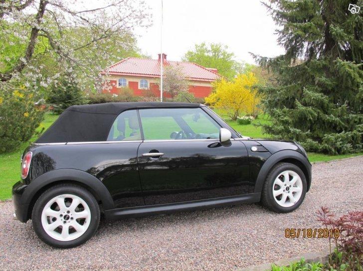 s ld mini cooper cabriolet 120 hk begagnad 2009 mil i h rryda. Black Bedroom Furniture Sets. Home Design Ideas