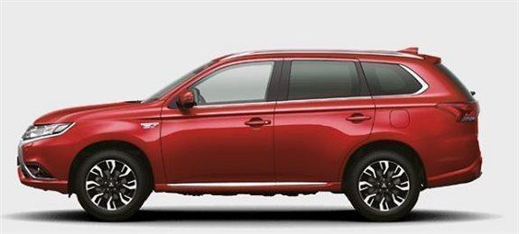 begagnad Mitsubishi Outlander REPHEV 22.0 A1 4WD Business