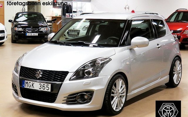 s ld suzuki swift sport 1 6 remus begagnad 2011 mil i eskilstuna. Black Bedroom Furniture Sets. Home Design Ideas