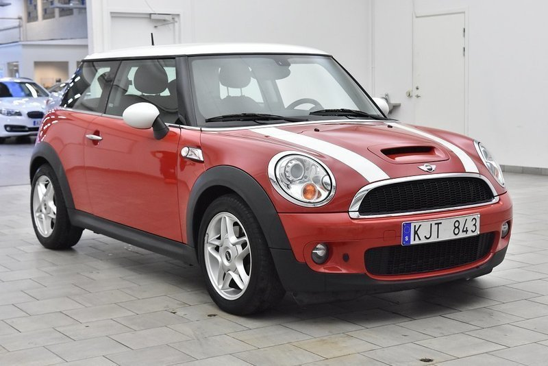 s ld mini cooper s 175hk m v r begagnad 2008 mil i l nna. Black Bedroom Furniture Sets. Home Design Ideas