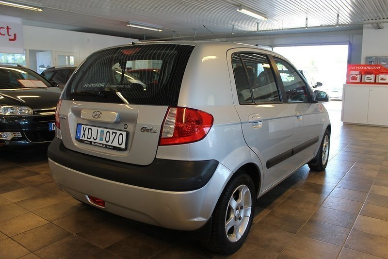 s ld hyundai getz 1 4 comfort 05 begagnad 2005 mil i uddevalla. Black Bedroom Furniture Sets. Home Design Ideas