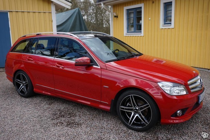 Såld Mercedes C180 Kombi Amg-kit - , begagnad 2010, 12 500