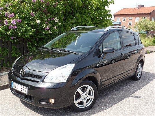 Sld Toyota Corolla Verso 18 Limi Begagnad 2006 10800