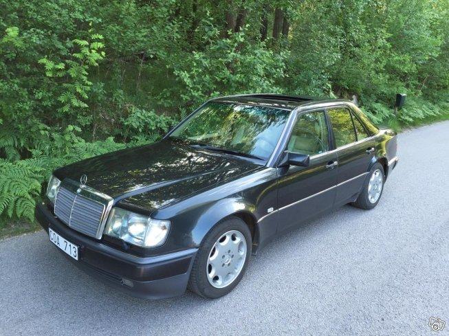 Såld Mercedes E500 w124 -92, begagnad 1992, 26 749 mil i (Göteborg