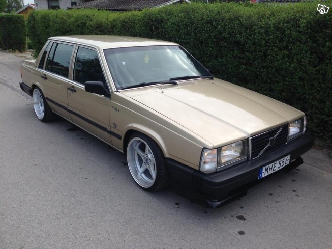Såld Volvo 740 D24 Turbo skatt...