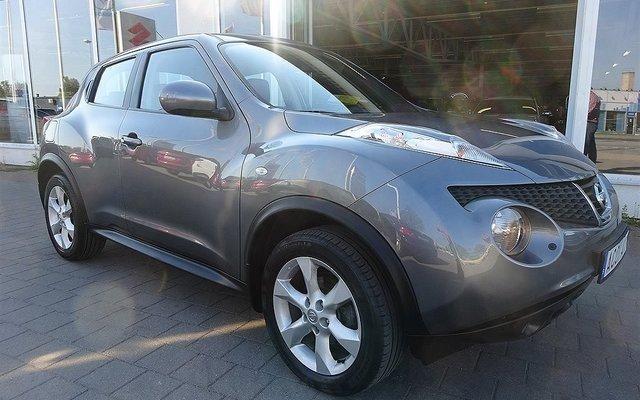 S ld nissan juke 1 6 acenta elegan begagnad 2011 for Nissan juke lila