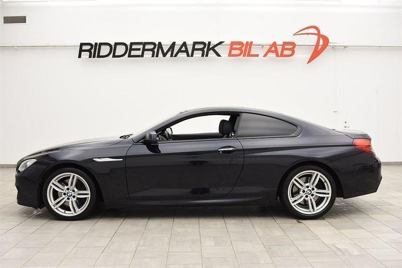 begagnad BMW 640 d 313hk M-SPORT / NAVI / SKINN / PANO