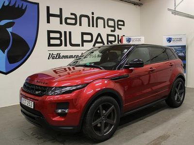 begagnad Land Rover Range Rover evoque 2.2 SD4 4WD Automat / Drag / Panorama 190hk