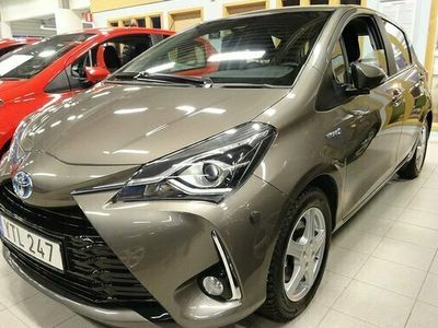 begagnad Toyota Yaris Hybrid 1.5 HSD 5-D TOUCH & GO EDITION 2019, Halvkombi Pris 168 500 kr
