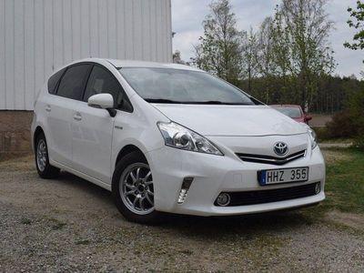 begagnad Toyota Prius+ Hybrid 1.8 VVT-i + 3JM CVT 7-si -12