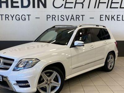 begagnad Mercedes GLK220 CDI 4M AMG Panorama
