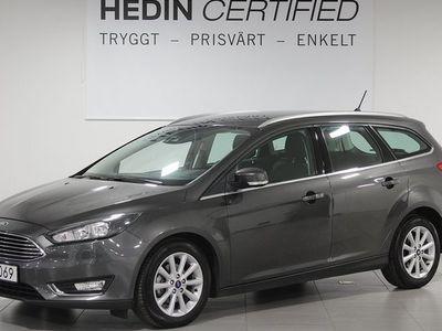 begagnad Ford Focus Titanium 1.0T Ecoboost 125hk Aut