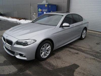 begagnad BMW 520 X-Drive   M-paket   Navi   Taklucka