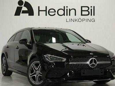 begagnad Mercedes 180 CLA BenzAMG Backkamera Panelbelysning Burmester Multibeam Elstolar 2021, Sportkupé Pris 345 900 kr