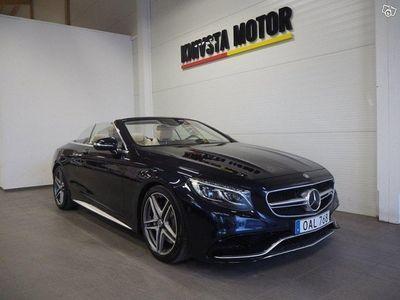 brugt Mercedes S63 AMG AMG4MATIC Cabriolet AMG S -16