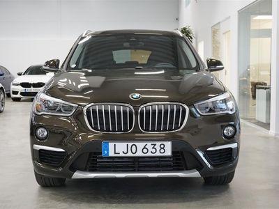 begagnad BMW X1 xDrive 20d Xline Navi Drag Backkamera