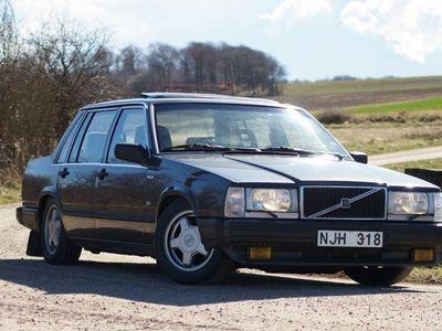 used Volvo 740 744 med tillhörande turbofälgar m.m -88