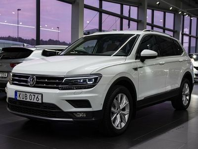 gebraucht VW Tiguan Allspace TSI 180 4M DSG Executive Navi Drag