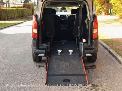 begagnad Peugeot Rifter Lättviktsramp Handikappanpassad