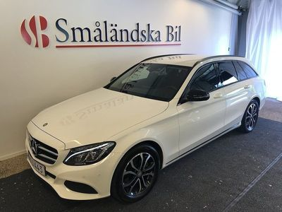 brugt Mercedes C220 T d Avantgarde Night Pack -16