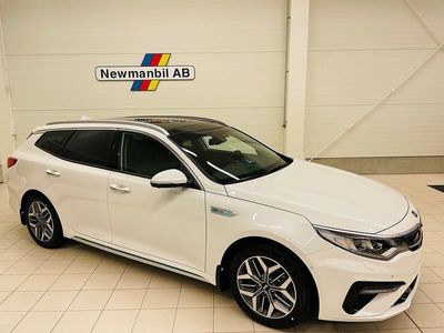 begagnad Kia Optima Hybrid SW Plug-in Aut 205 Hk Advance Plus PKT 2