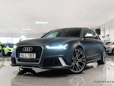 usado Audi RS6 PERFORMANCE Q 605HK SVSÅLD PANORAMA