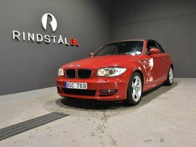 begagnad BMW 120 Cabriolet i Convertible 170 HK ADVANTAGE COMFORT S&V-DÄCK NYSERV
