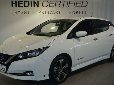 begagnad Nissan Leaf N-Connecta 40 kWh 360-kamera 149hk