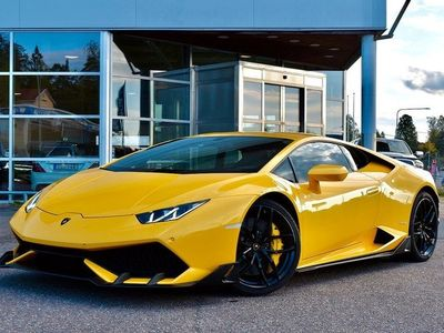 begagnad Lamborghini Huracán HuracánAEROKIT SVENSKSÅLD